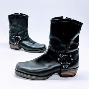 Dingo Leather Moto Harness Boots sz 10 Wide
